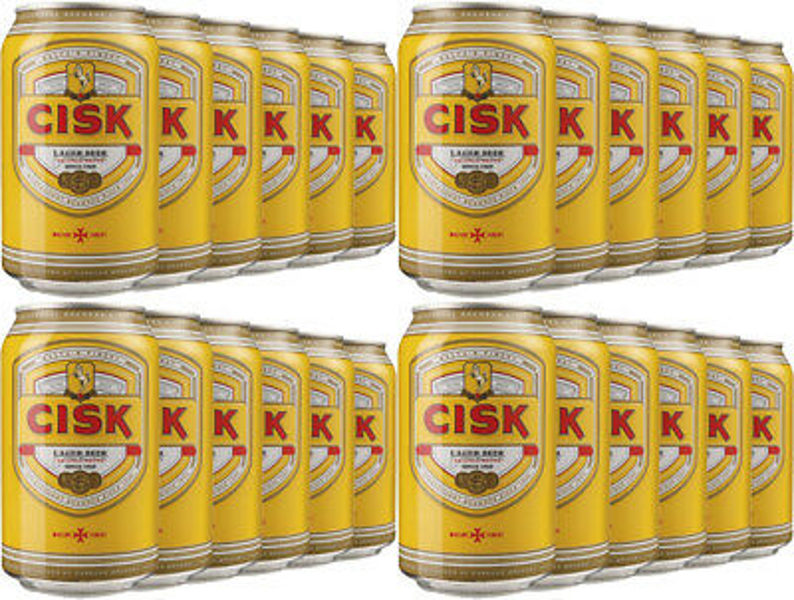 Cisk Lager can 33cl Case x 24