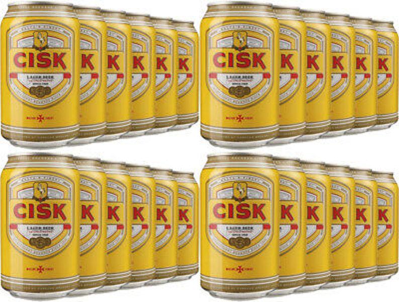 Cisk Lager cans 50cl Case x 24