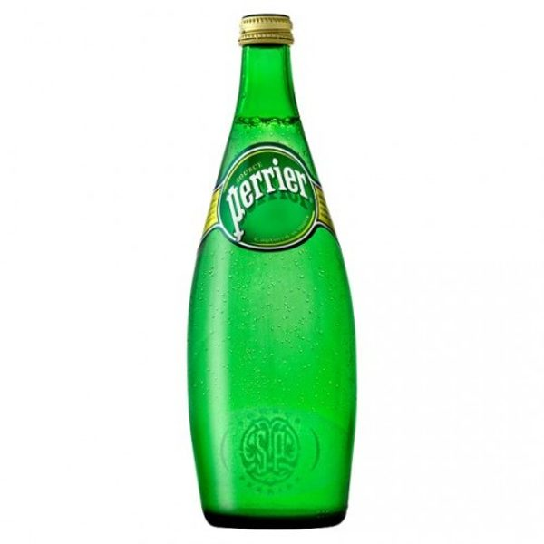 Perrier Sparkling Water Glass 75cl