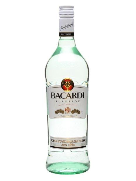Bacardi White Rum 1LTR