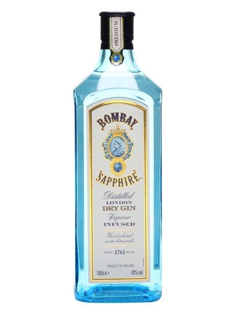 Bombay Sapphire Gin 1LTR