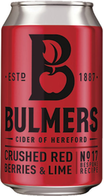 Bulmers Berry Cider can 33cl