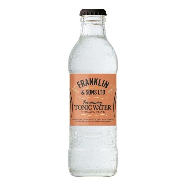 Franklin & Sons Rosemary & Black Olives Tonic 20cl