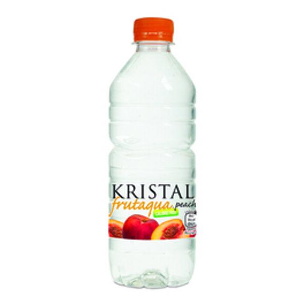 Kristal Frutaqua Peach Flavour 50cl x 12