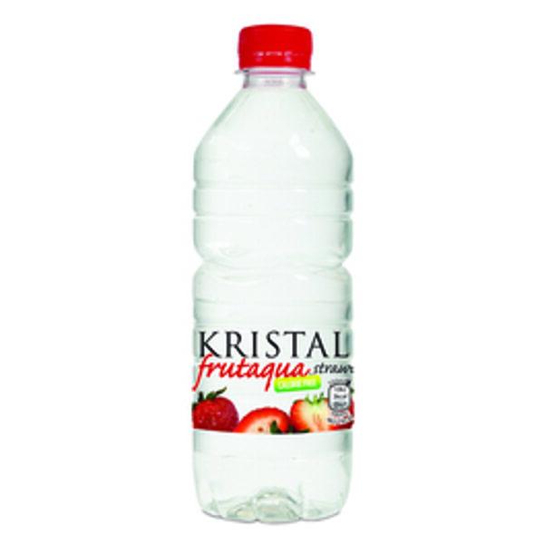 Kristal Frutaqua Strawberry Flavour 50cl x 12