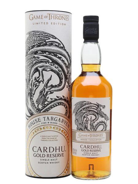Cardhu Gold Rerserve Targaryen House 70cl