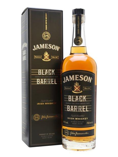 Jamesons Black Barrel 70cl