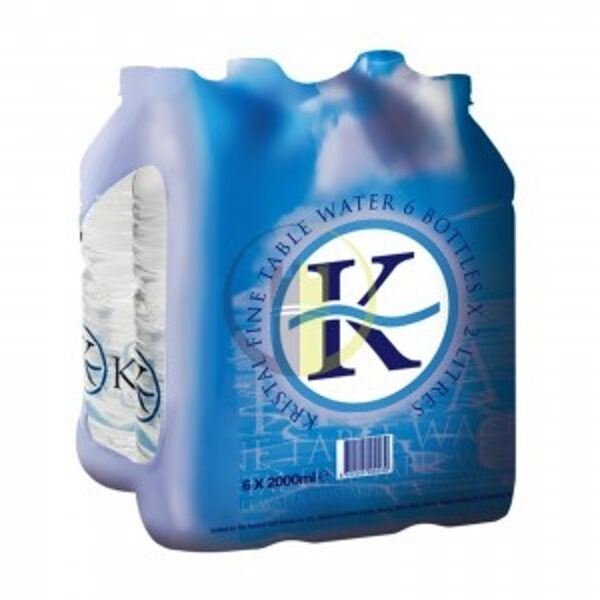 Kristal Still Water 2Ltr x 6 (DELIVERED ONLY WHEN ORDERED WITH OTHER ITEMS, MAXIMUM OF 10 PACKETS PER ORDER)