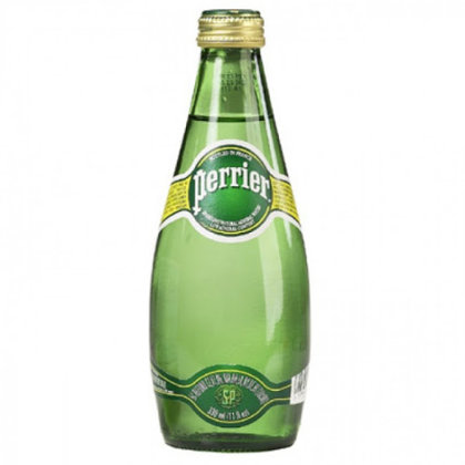 Perrier Sparkling Water Glass btl 33cl x 24